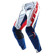 JT Racing Evo Youth MX Pants - White-Blue 2013